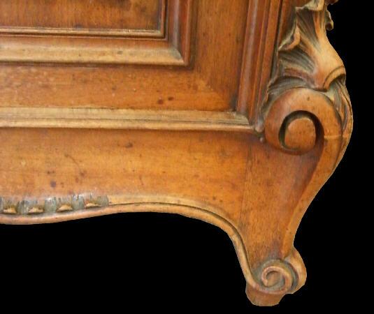 ロココ彫刻脚部